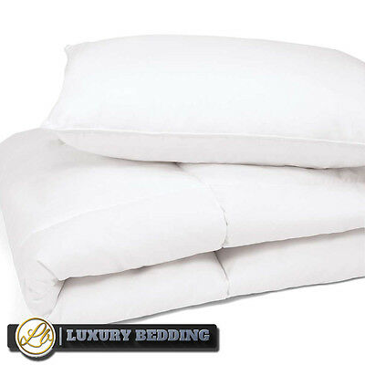 Toddler Luxury Percale Anti-Allergy Cot Bed Cribe Duvet Pillow Set 7.5 Tog