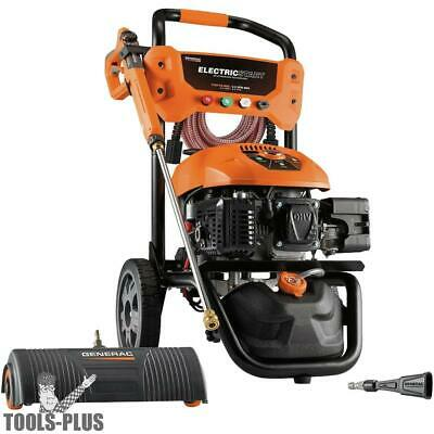 Generac 7143 3100PSI E- Start Power Washer w/Broom+Blaster (50 State/CSA) New