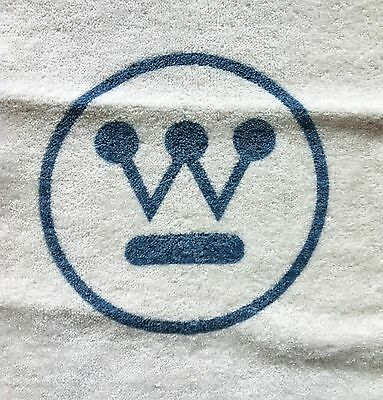 Vintage 1960's Westinghouse Fan Logo Hand Towel Dundee Brand NOS Very Rare