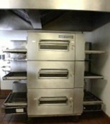Three (3)Lincoln 1600 Pizza oven - Italian Restaurant Equipment Bundle