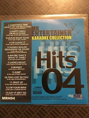 Karaoke Cdgs, Dvds & Media Musical Instruments & Gear Mr Entertainer Karaoke Collection Hits 04 Mrh04 12 Massive Hits
