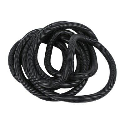 20 Ft 1inch Split Wire Loom Conduit Polyethylene Tubing Black Color Sleeve Q2E1