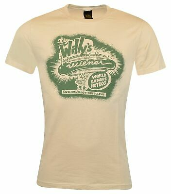 Lucky Brand Classic Fit Graphic Hot Dog T-Shirt