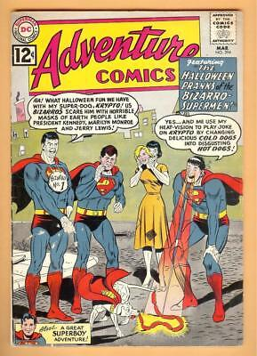 Adventure Comics #294 JFK, Marilyn Cover! Mar 1962, DC, 1938 Series VG