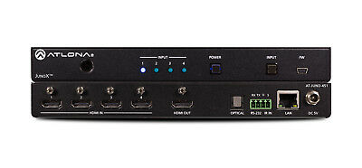 Atlona AT-JUNO-451 | 4K HDR Four Input HDMI Switcher