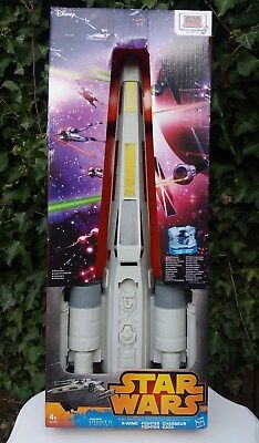 "Star Wars Episode Iv X Wing Fighter Disney Hero Series Hasbro 29"" X 25"""