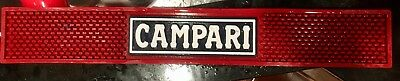 Red Campari Bar Rail Mat Bar Mat
