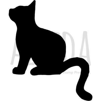 Template A5 /'Cat In Tree Silhouette/' Wall Stencil WS00003838