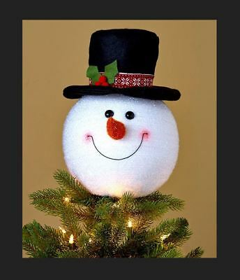 Frosty the Snowman Happy Christmas Tree Topper – Character Whimsical  Children