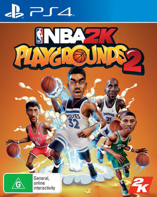 NBA 2K Playgrounds 2 PS4 Game NEW