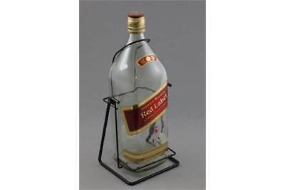 Collectible Memorabilia-Johnnie Walker Red Label 3L Empty Bottle with Cradle