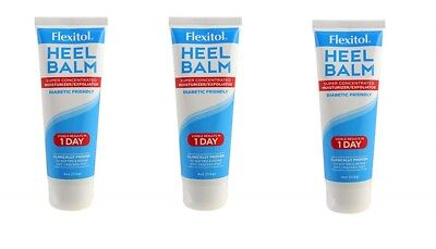 Flexitol Heel Balm For Rough Dry Feet - 2 oz. (Pack of 3)