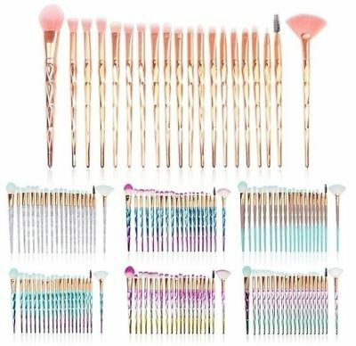 20 Fashion Diamond Professional Makeup Brushes 7 colours  (FREE SHIPPING!)