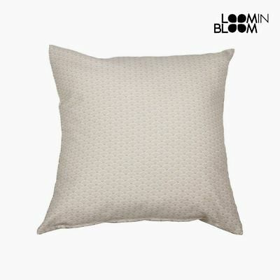 Coussin Coton et polyester Beige (60 x 60 x 10 cm) by Loom In Bloom