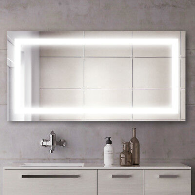 1200x800mm LED Illuminated Mirror Touch Switch Wall mounted Anti-fogging