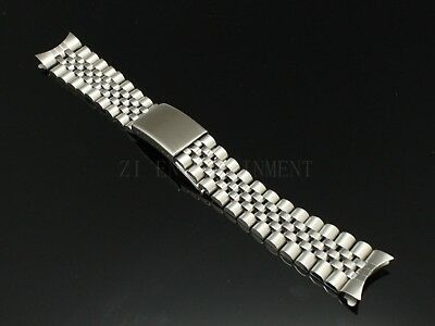 20 MM President jubilee Watch Band Bracelet Fits for Rolex Stainless Silver
