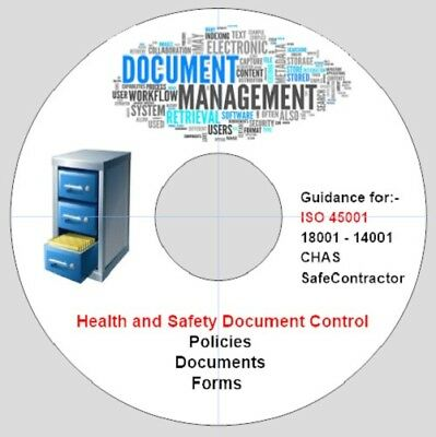 8. ISO 45001 Compliance - QA - Health and Safety Document Control - Forms -Disc