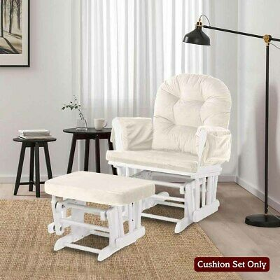 For Baby Nursery Rocker Rocking Chair Glider Ottoman Stool Seat