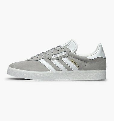 best loved a5516 95016  Adidas  CQ2793 Gazelle Super Essential Women Men Shoes Sneakers Grey White