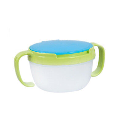 Baby Toddler Feeding Bowl Snack Food Keeper Pod Container Cup Drink Traveling I