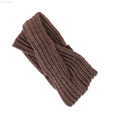FD35 7 Colors Crochet Fashion Knitted Band Woolen Headband Women Outdoor
