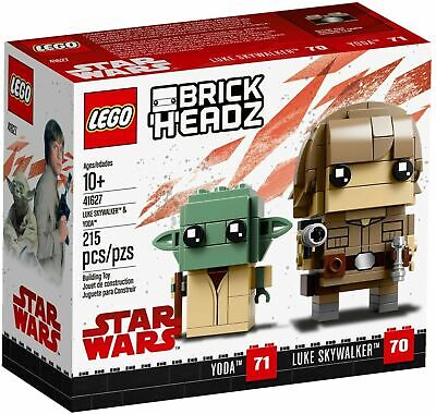 Lego 41627 Luke Skywalker E Yoda Brickheadz Star Wars Ott 2018