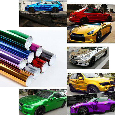 Waterproof Car Glossy Highlight Vinyl Wrap Film Sticker Decal with Air Bubble