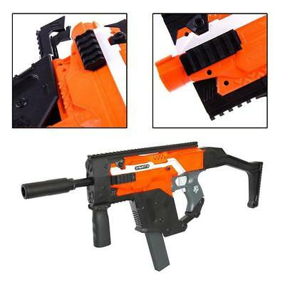 Worker Mod Kriss Vector Style Body Cover for Nerf Stryfe Toy Color Black TOP BT