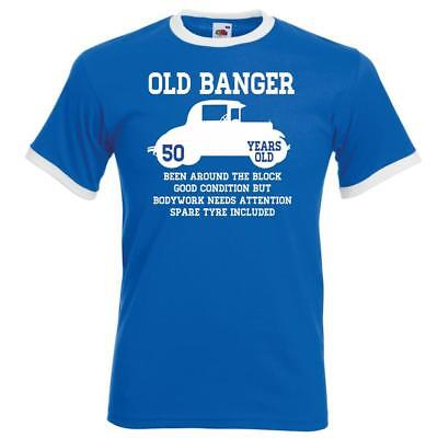 Personalised Mens Funny Ringer Birthday TShirt Old Banger Car Gifts Presents