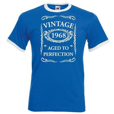 Personalised Mens Funny Ringer Birthday TShirt Vintage New Style Gifts Presents