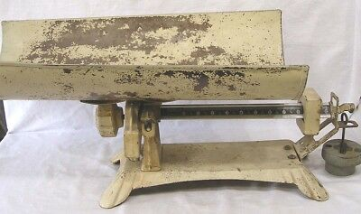 Vintage Detecto Baby Scale with Pan 1930s-40s  Scale Type Balance Weight