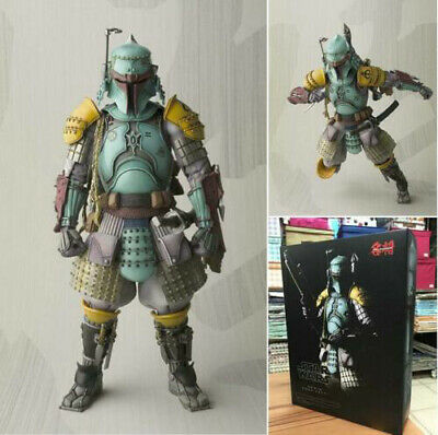 7'' Star Wars Ronin Samurai Boba Fett Meisho Movie Realization Action Figure Toy