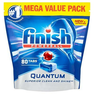 finish quantum max dishwasher tablets original 1 x 80 80 tablets