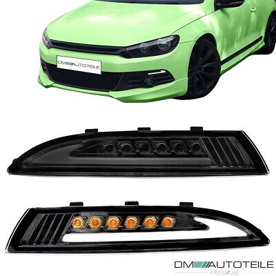 VW Scirocco 3 (137) Light-Bar Standlicht LED Blinker Set Smoke abgedunkelt 08-14