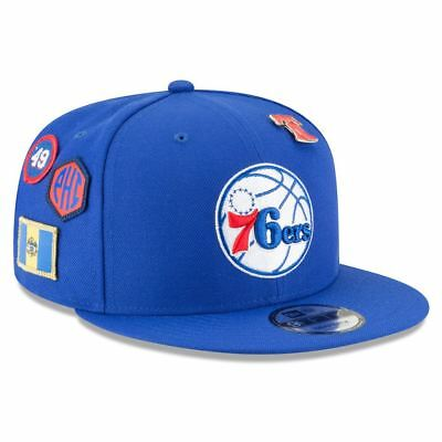 d2cb3823f Philadelphia 76ers Hat Adj Men s 2018 NBA Draft Hat 9FIFTY Snapback New Era  NBA