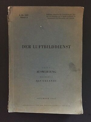 1942 WWII German Air Force Book of Aerial Reconnaissance Photos- 157 Plates