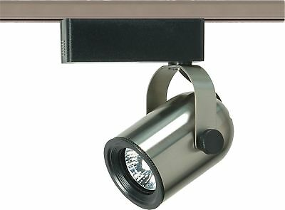 Nuvo - 1 Light - MR16 - 12V Track Head - Round Back Brushed Nickel - TH327