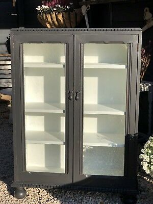Antique Oak Painted Bookcase