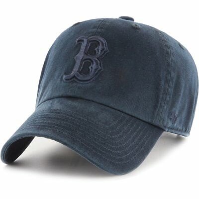 47 Brand Relaxed Fit Cap - CLEAN UP Boston Red Sox navy