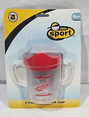 Little Sport NHL Detroit Red Wings 2 Handle Trainer Cup 6oz. Sippy Cup 6m+