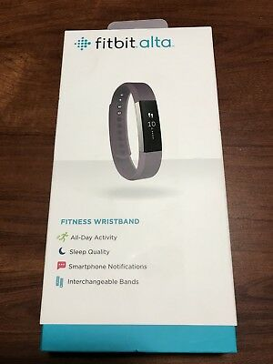 Fitbit Alta - Tracker & Plum Band (sm) + Charger