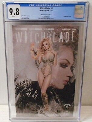 Witchblade #1 (12/17, Image) CGC 9.8, cover by Natali Sanders