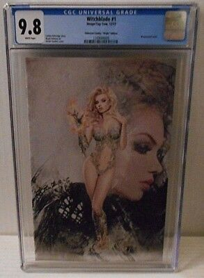 Witchblade #1 (12/17, Image) CGC 9.8, virgin cover by Natali Sanders