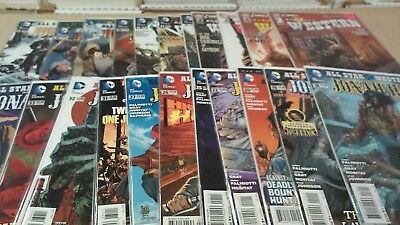 22 All Star Western Lot New 52 issues 1-4,10-14,16-20,22,25-27,31-34 1st Prints