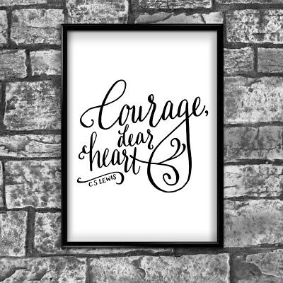 Motivational Inspirational Positive Thoughts Quote Picture Poster Print Wall 142