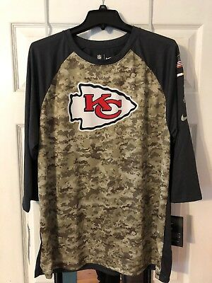 buy online 54fbb d41af KANSAS CITY CHIEFS Camo Salute to Service Jersey #5 Mahomes ...