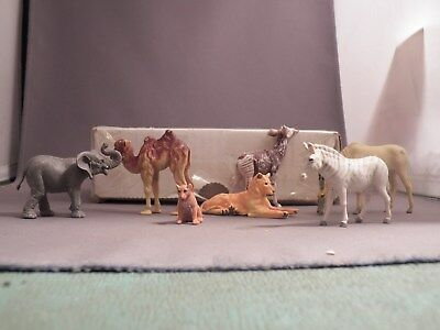 Animal Lot Eight Different Animals Most are Britains