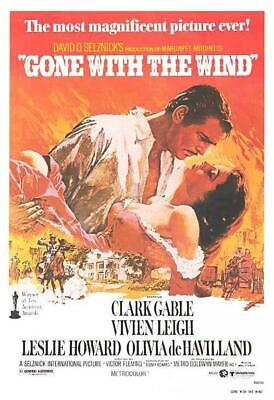 Original Gone With The Wind (1939)movie poster reprint