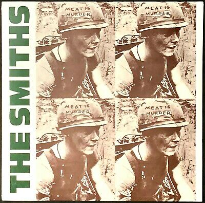 The Smiths - Meat is Murder [Latest Pressing] New LP Vinyl Record Album Sealed
