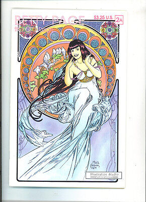 Betty Page the Fifties rage #2 vfn 1993 Bettie (2a) The Illustration Studio